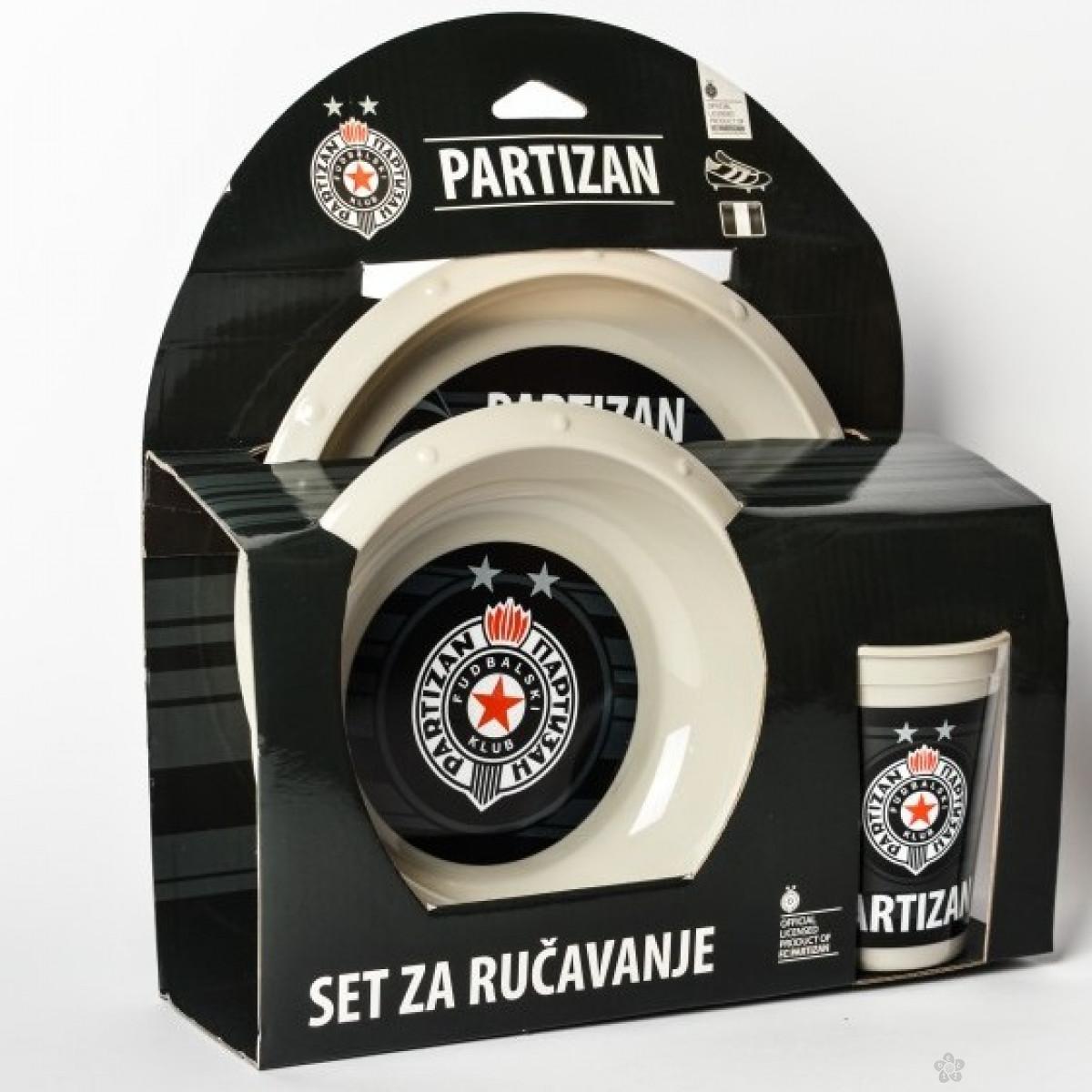 Set za ručavanje Partizan
