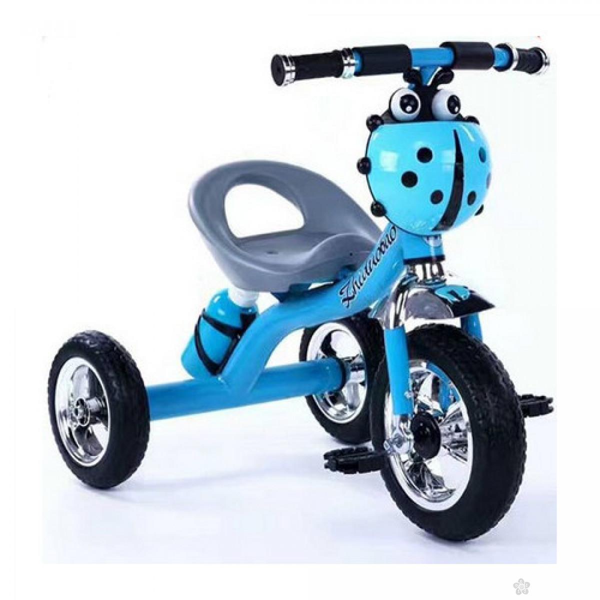 Tricikl Bubamara sa termosom, 064563 plavi