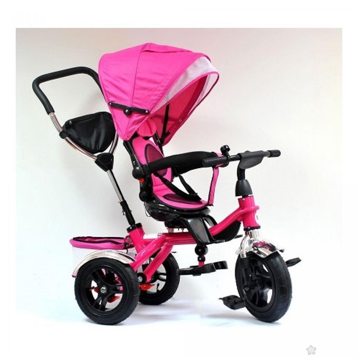 Tricikl - guralica Playtime 408 pink