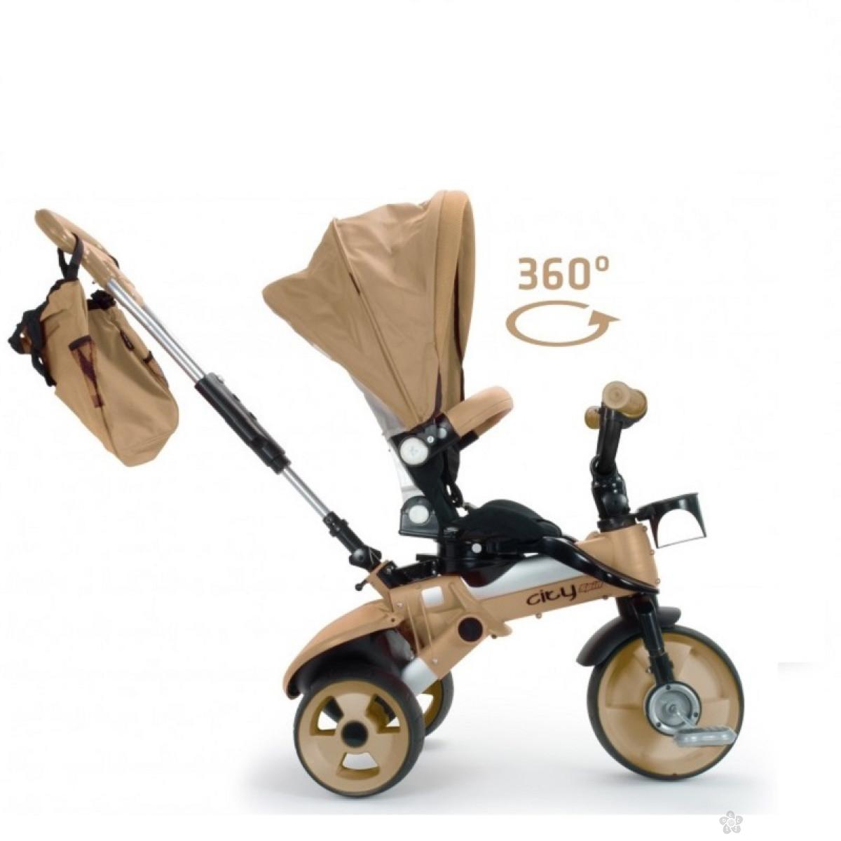 Tricikl Injusa City Max, model 423