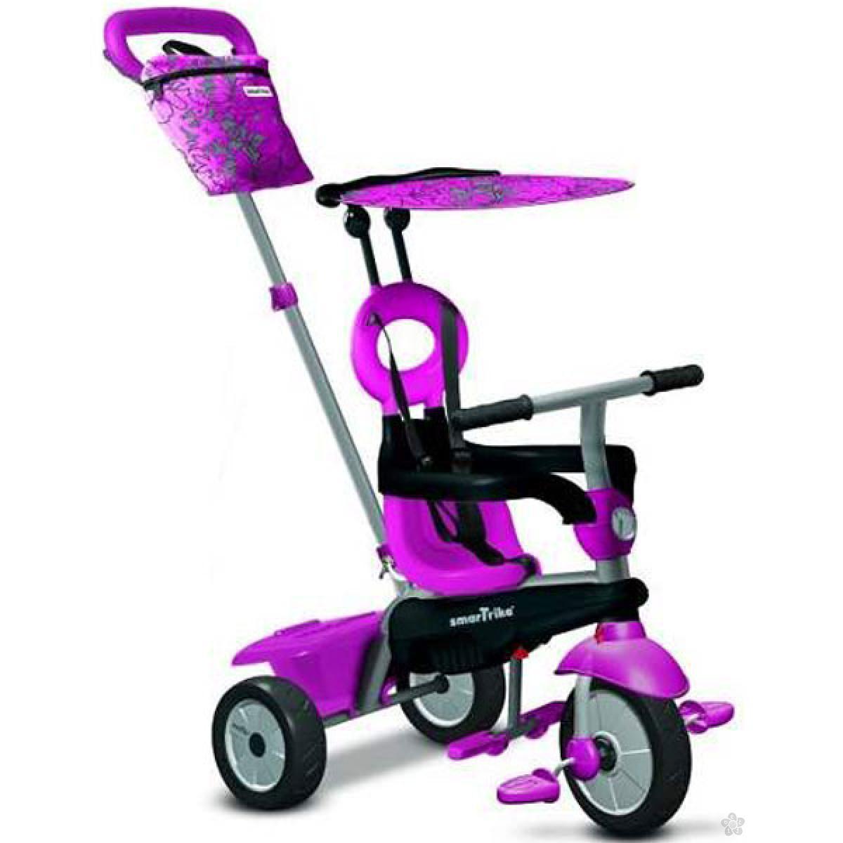 Tricikl Smart Trike Vanilla 4u1 Pink 6652200