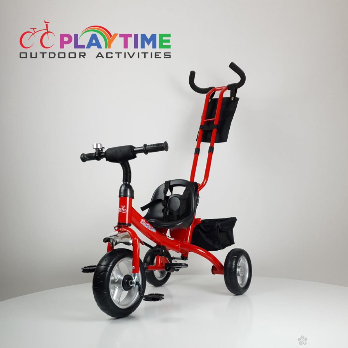 Tricikl bez tende Master model 432 crvena