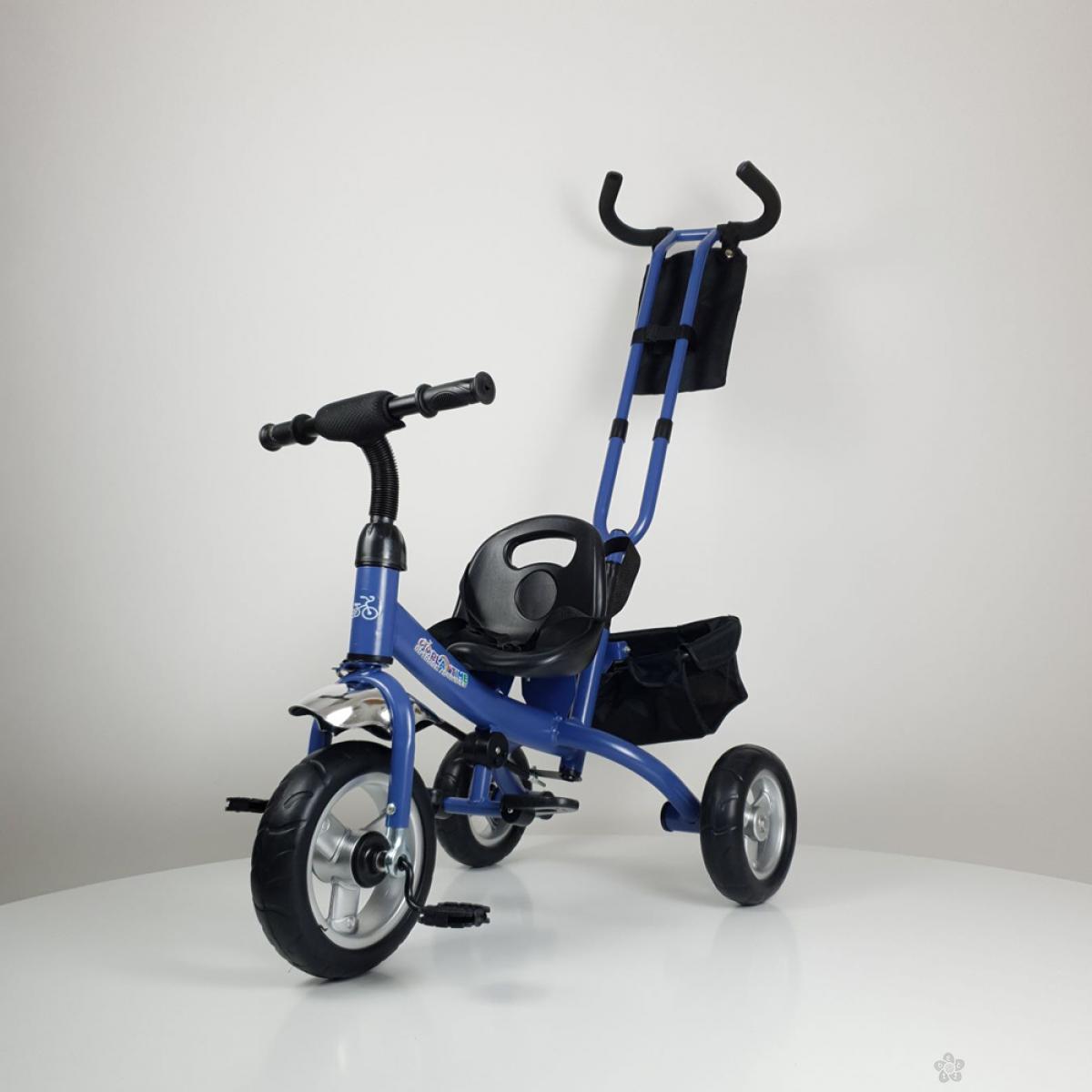 Tricikl bez tende Master model 432 plava