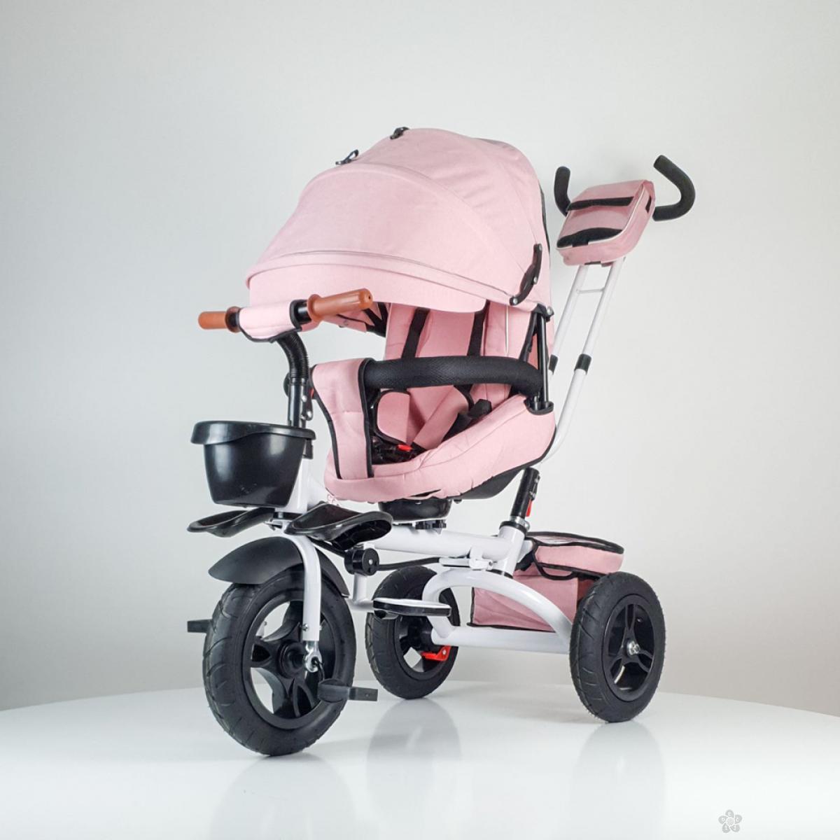 Tricikl Jeans sa rotirajućim sedištem model 420 pink