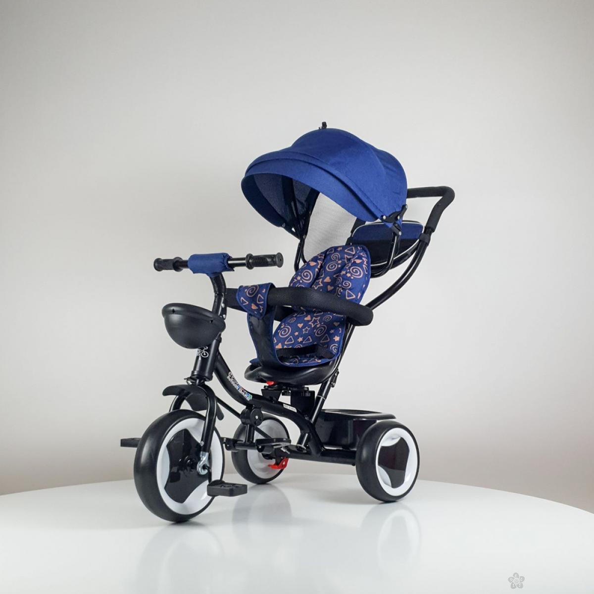 Tricikl Playtime MONI model 431 plavi