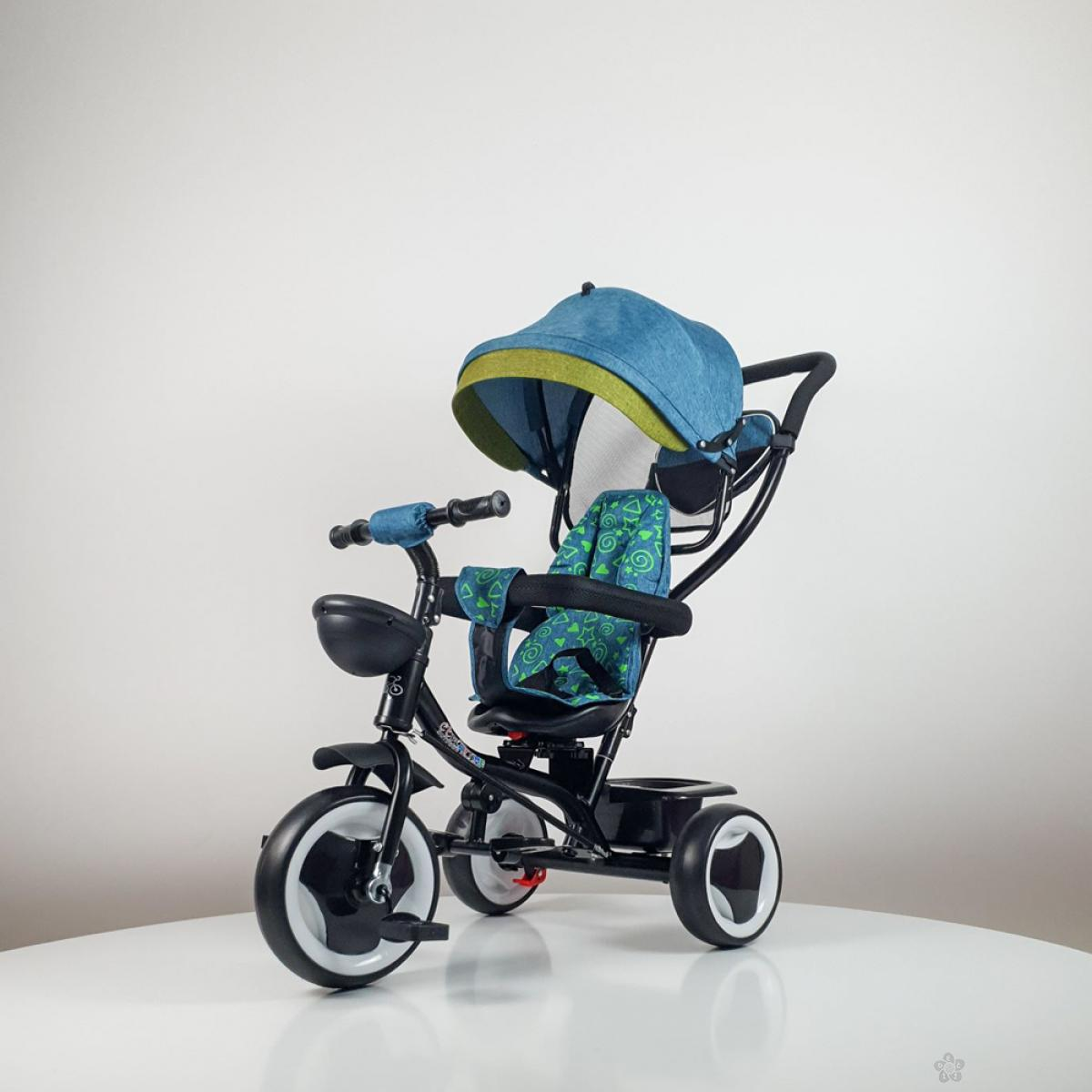 Tricikl Playtime MONI model 431 zeleni