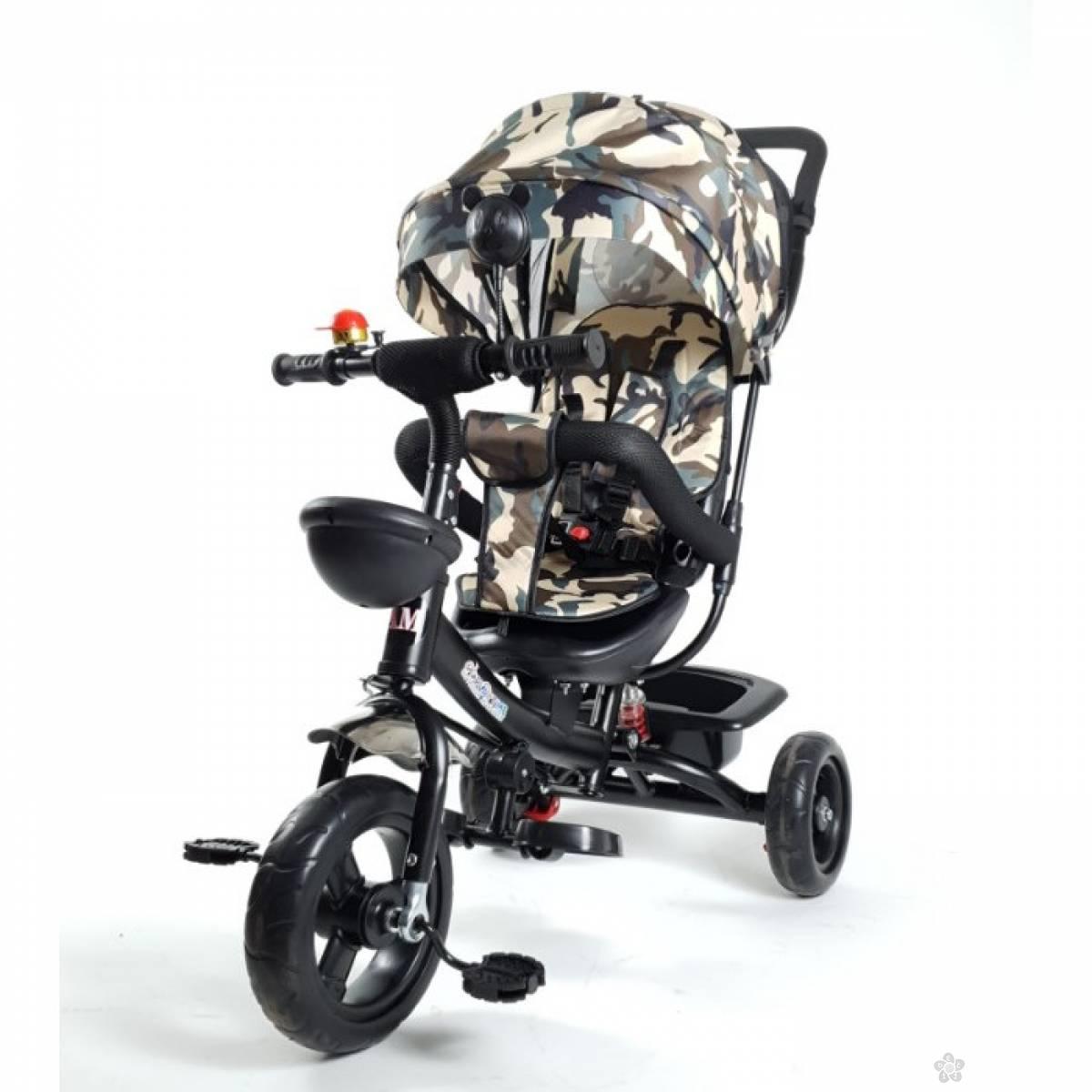 Tricikl Playtime model 406-1, crni ram