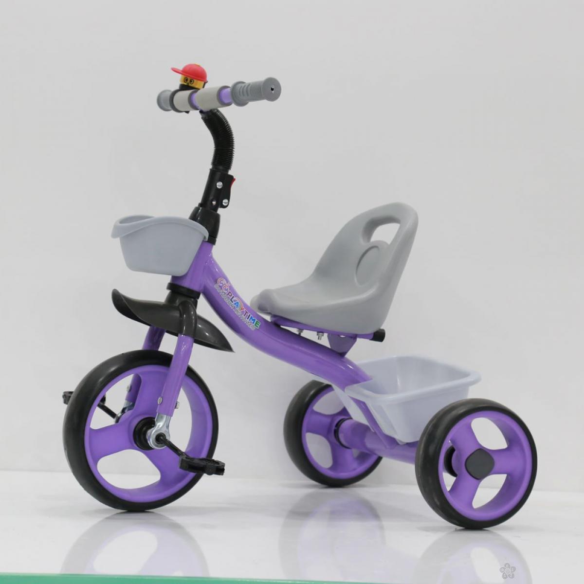 Tricikl Playtime Nani I model 426-1 ljubičasti