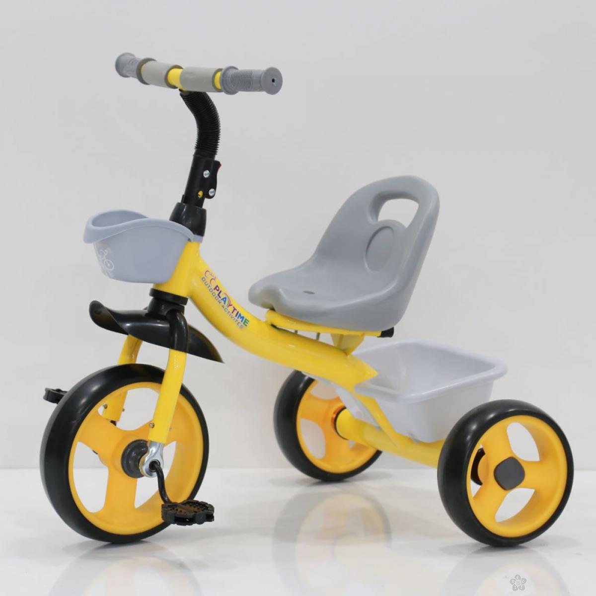 Tricikl Playtime Nani I model 426-1 žuti