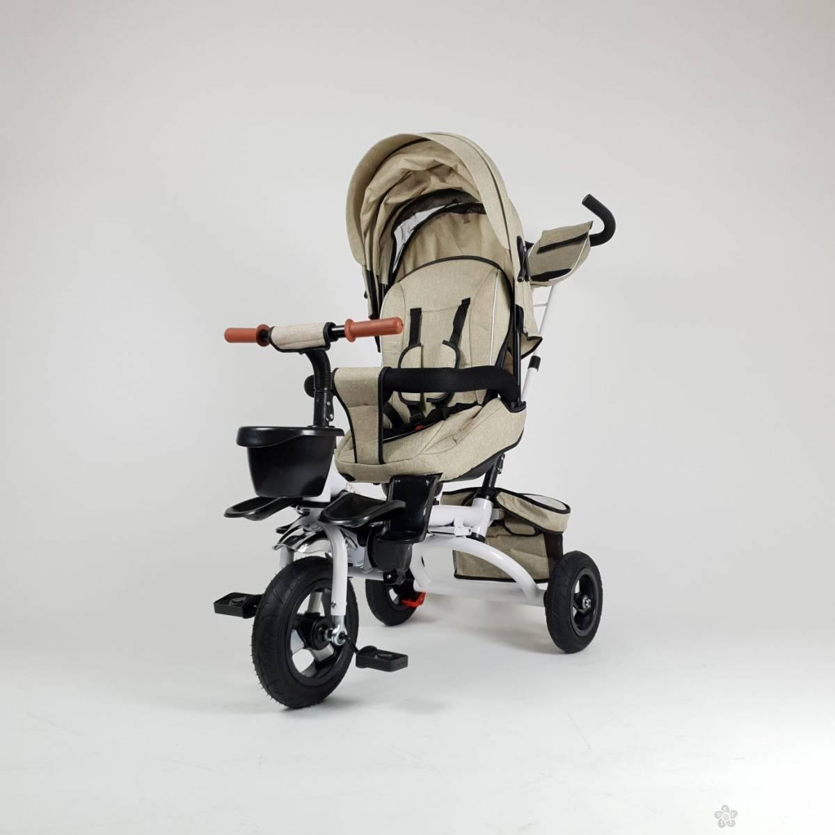 Tricikl Happybike Lux 420, bež