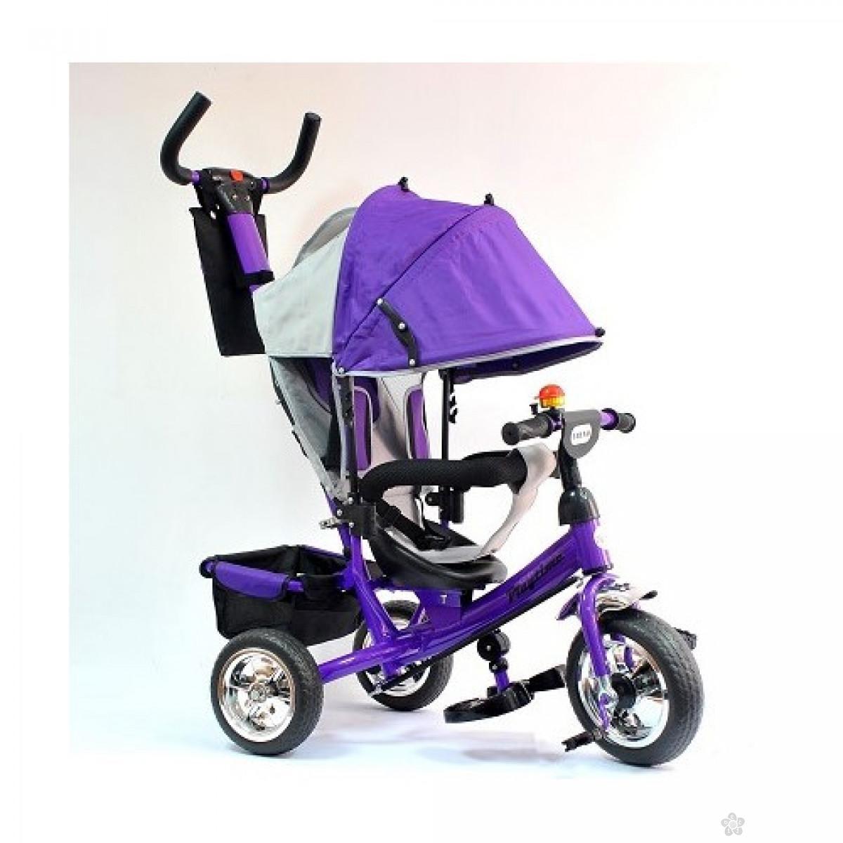 Tricikl Playtime AM407 model 407 trend LJUBIČASTI