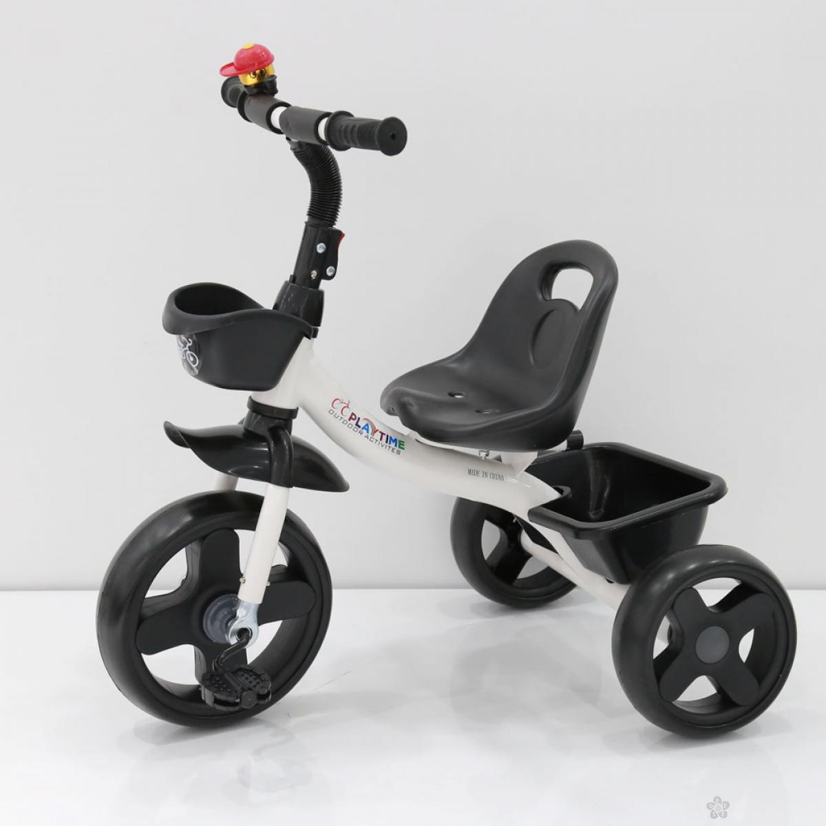 Tricikl Playtime Nani II model 426-2 belo/crni