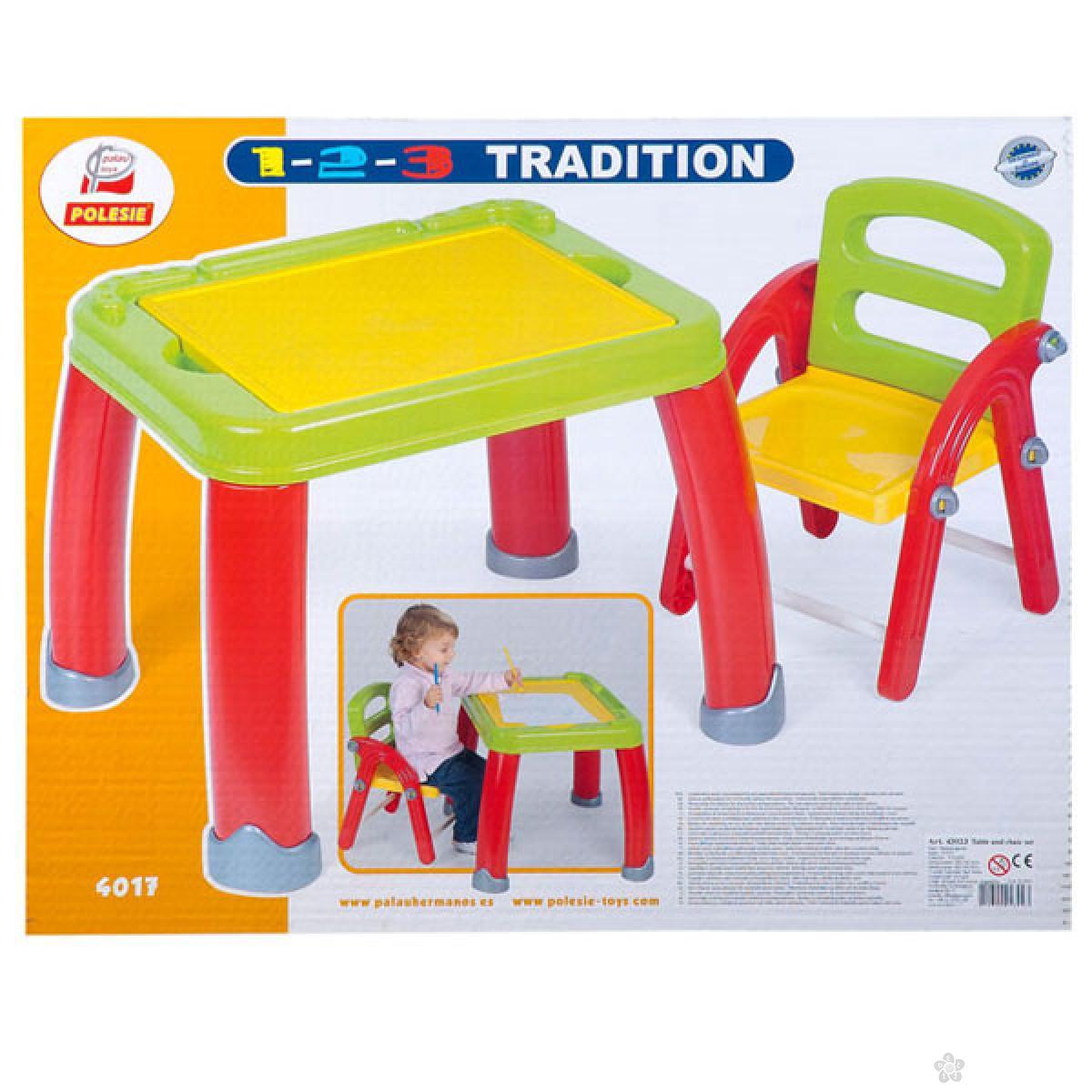 Školski sto sa stolicom BR43023