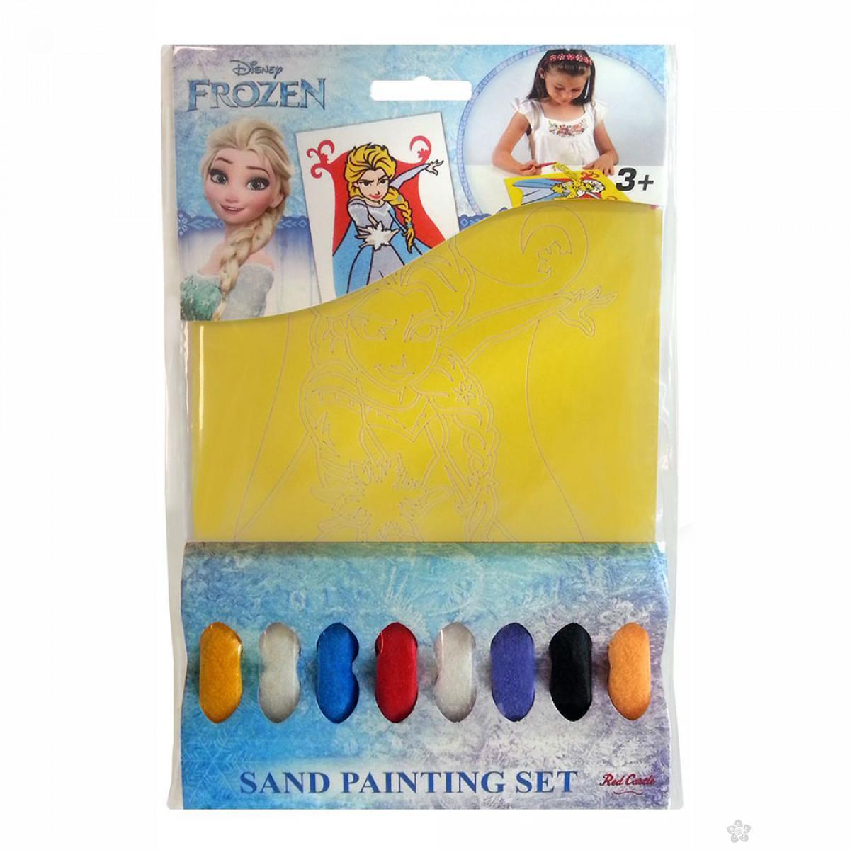 Frozen bojanka za slikanje peskom