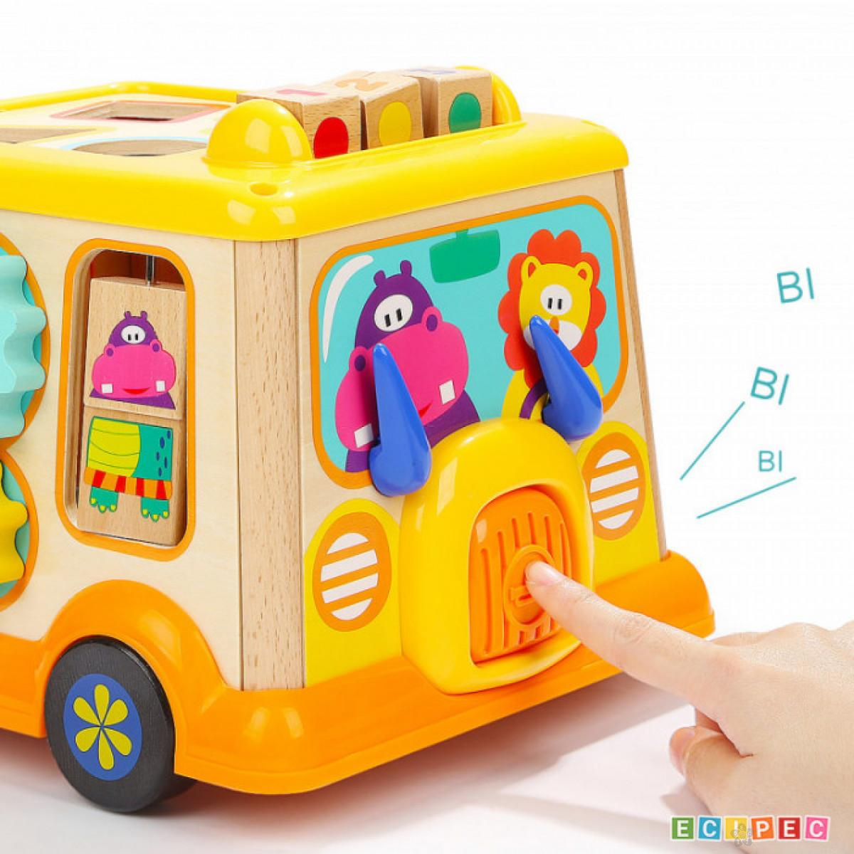 Didaktička igračka Školski autobus ToP Bright 150185