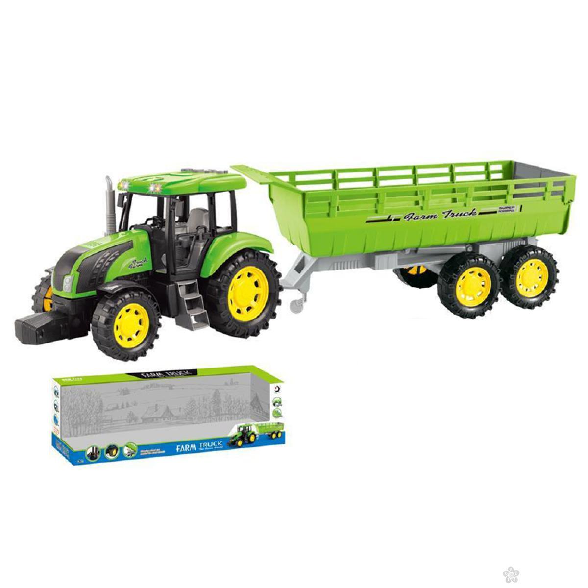 Traktor sa prikolicom 053718