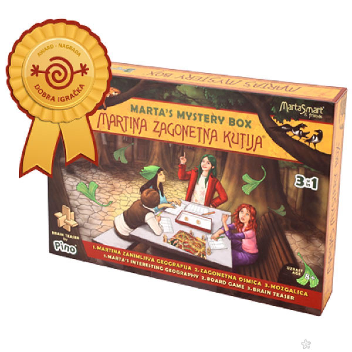 Društvena igra Martina zagonetna kutija, 8538