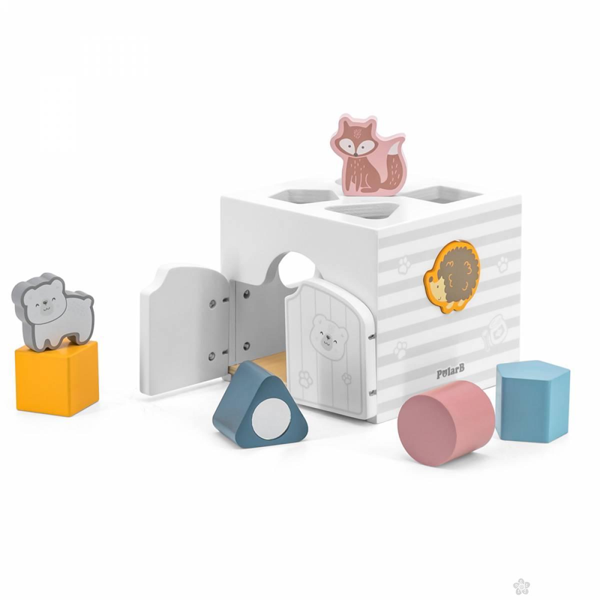 Drveni eduko kocka i muzički blokovi 44052