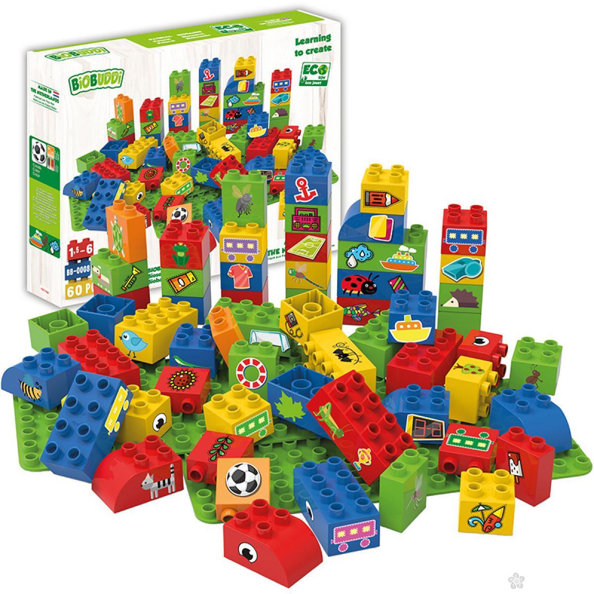 Edukativne kocke sa 2 osnove za dečake I BB-0008