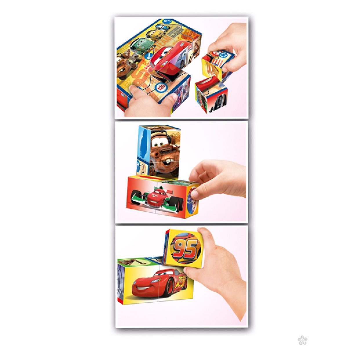 Kocke Cars 12 Multiplay, 41505