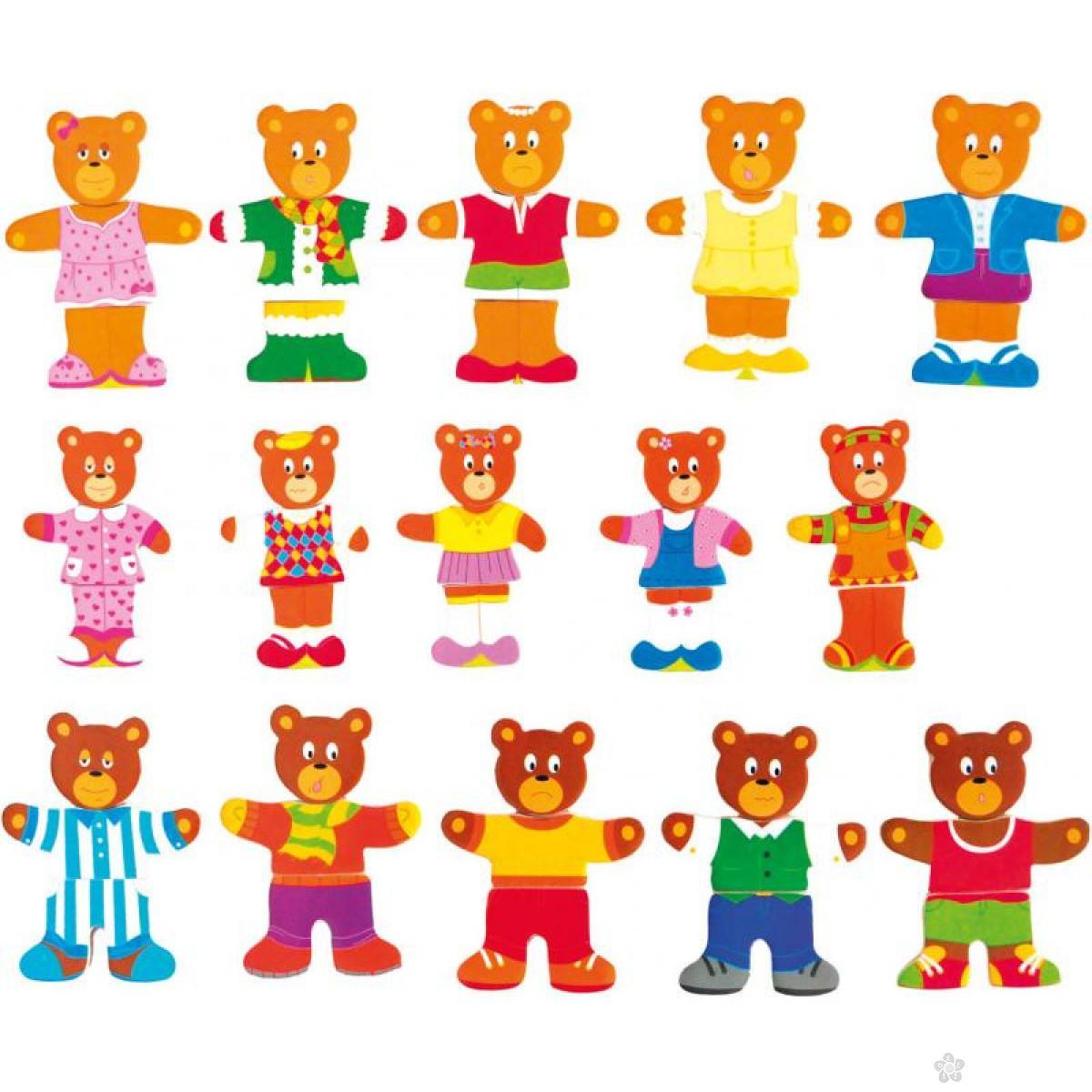 Puzle - medvedi 90810