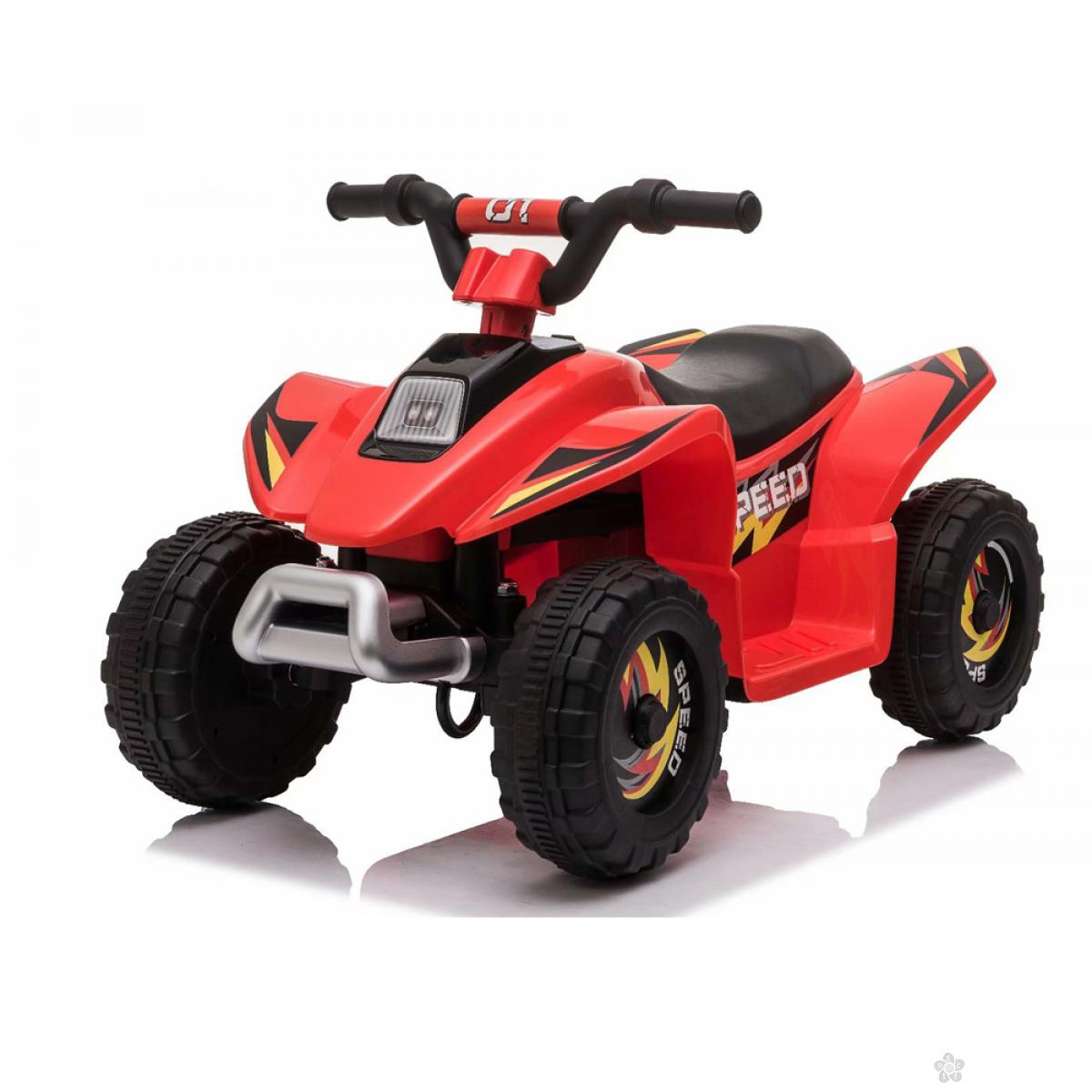 Dečji auto na akumulator model 129 crveni