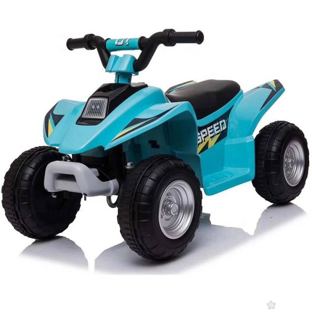 Dečji auto na akumulator model 129 plavi