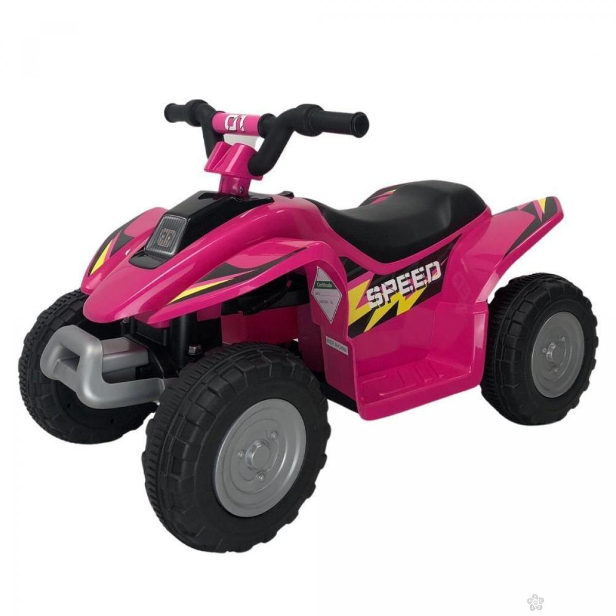 Dečji auto na akumulator model 129 roze