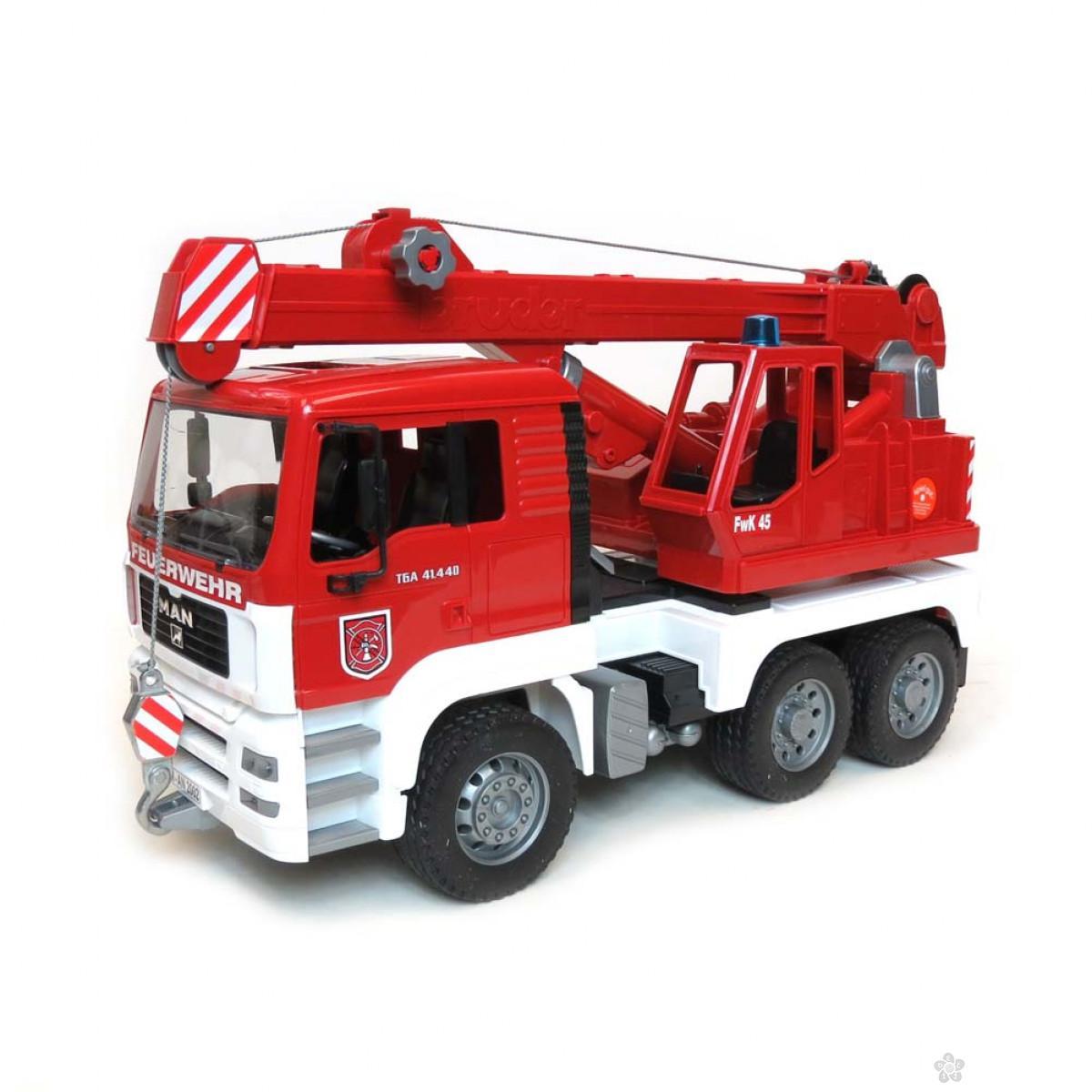 Kamion Man TGA Vatrogasac Bruder, 019815