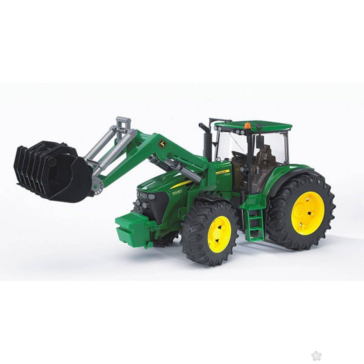 Traktor John Deere 7930 sa utovarivač 030513