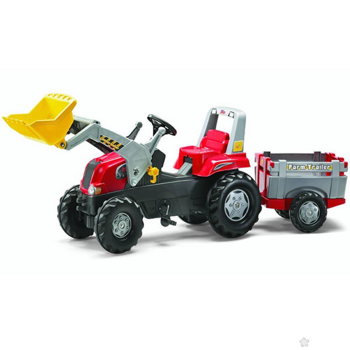 Traktor Junior sa prikolicom i kašikom 811397