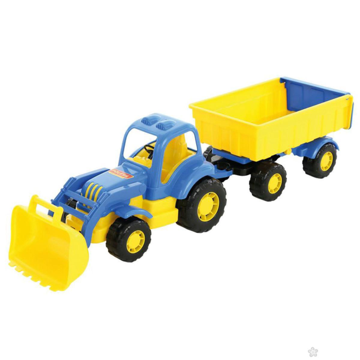 Traktor sa prikolicom 45027