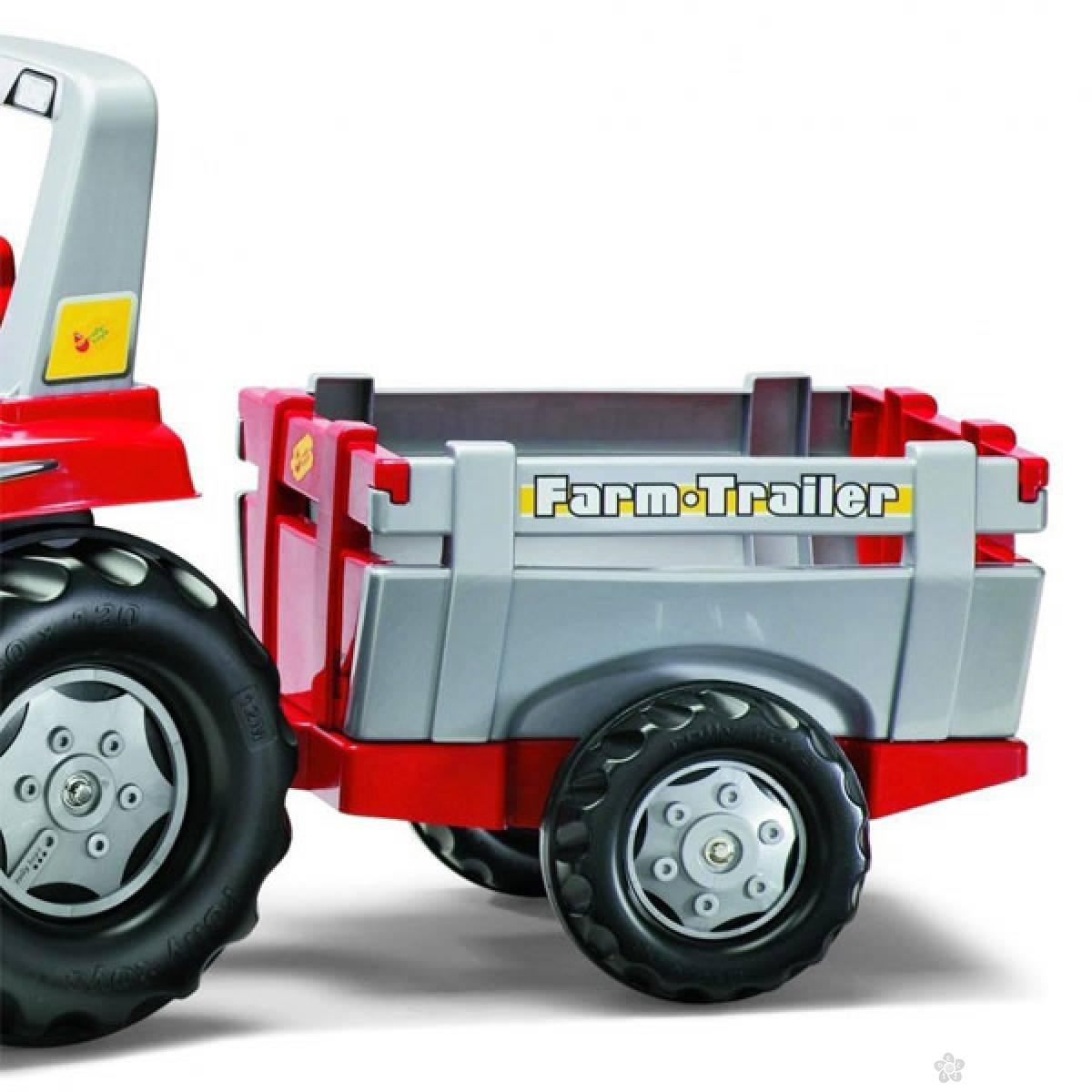 Traktor sa prikolicom Rolly Toys Junior 800261