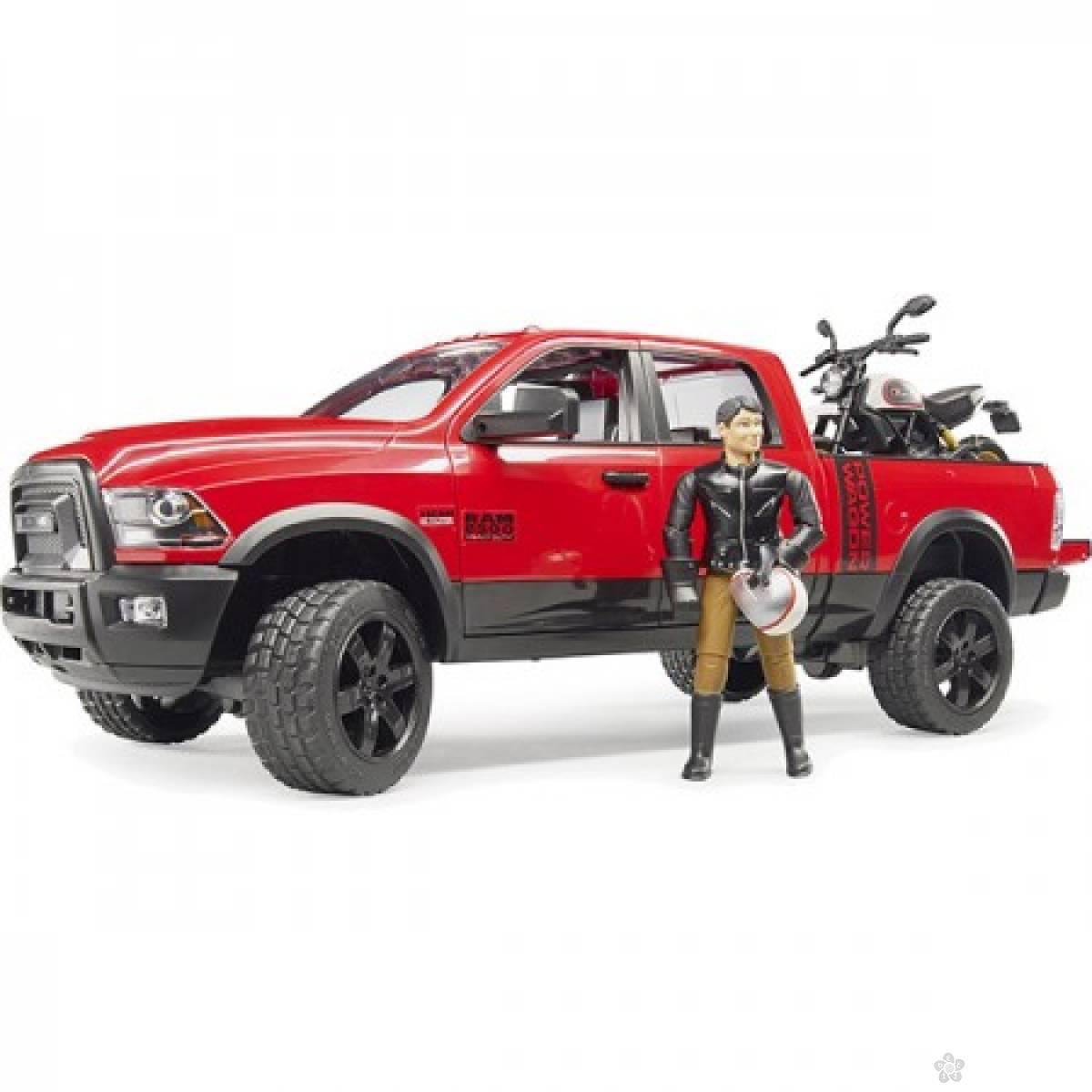 Džip RAM sa motorom Ducati Desert i figurom 025021