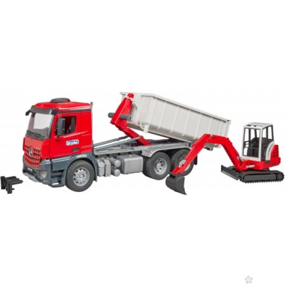 Kamion MB sa ručnim viljuškarom 036249