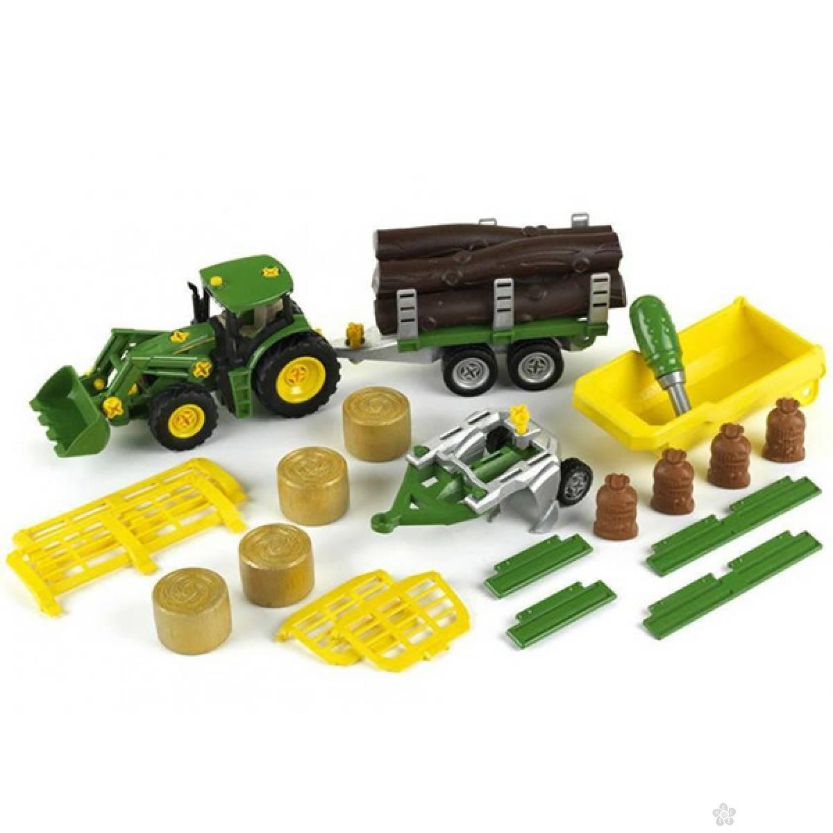 John Deere Traktor sa damperom Klein KL3907