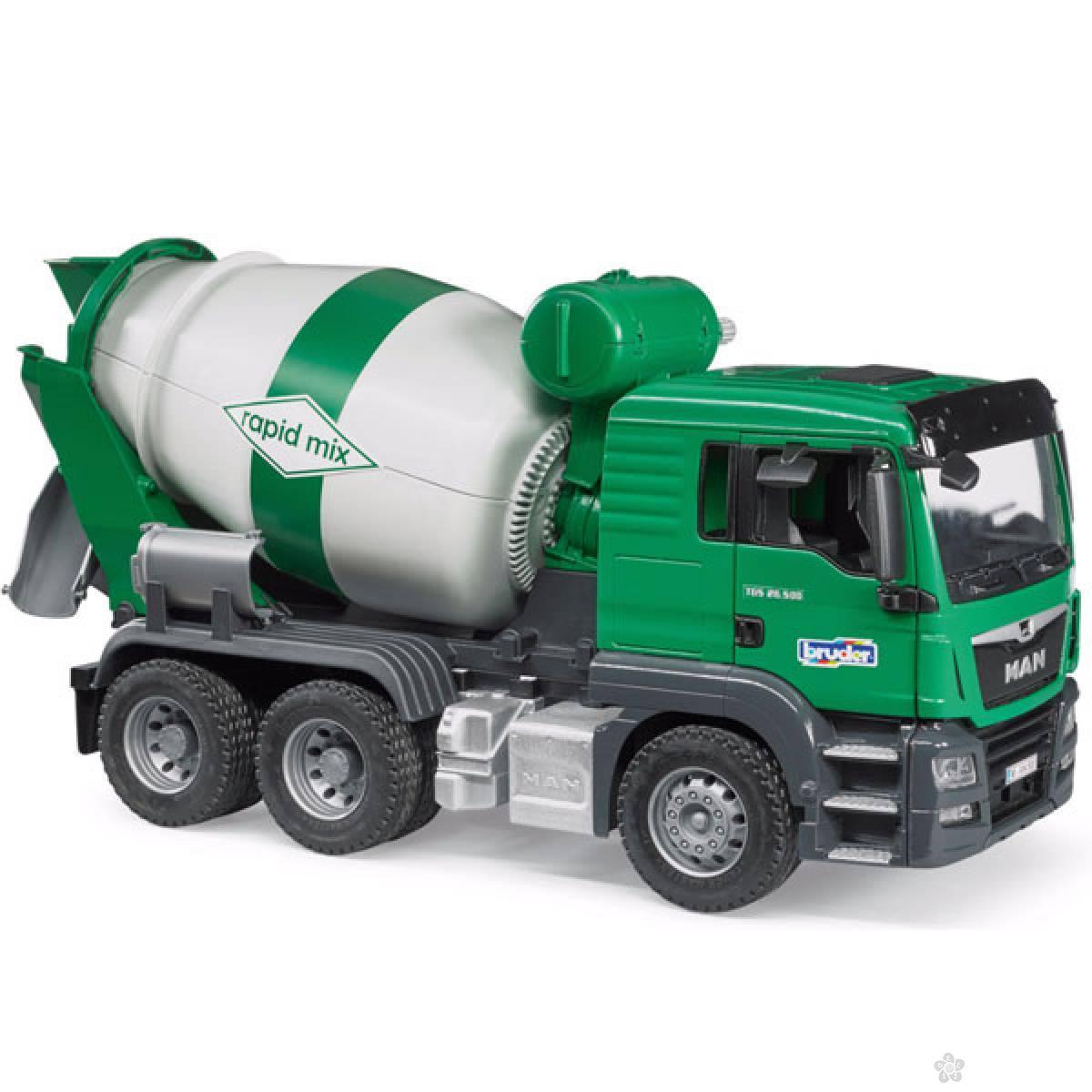 Kamion Bruder MAN TGS Beton Mešalica 037109