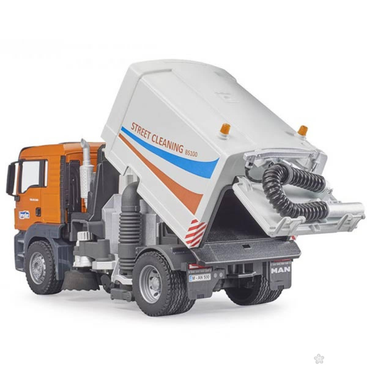 Kamion MAN TGS ulični čistač Bruder 037802