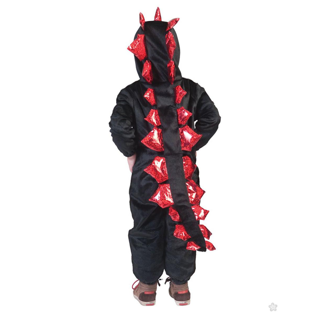 Kostim Dinosaurus Crni zmaj