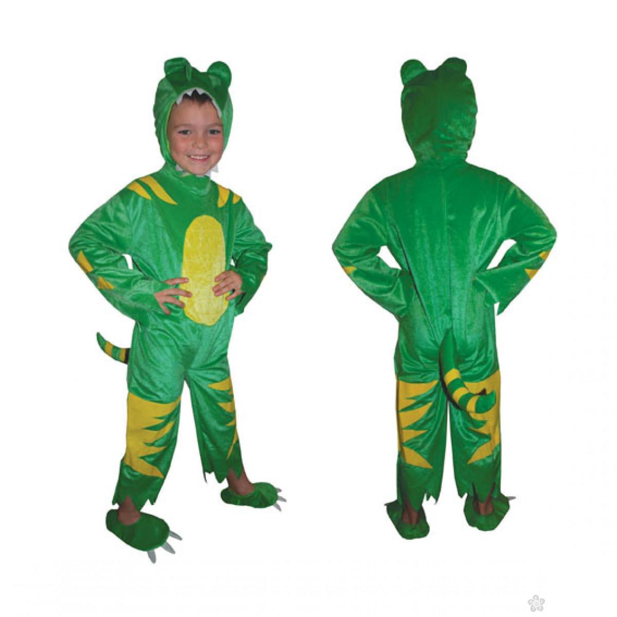 Kostim Dinosaurus Zeleni zmaj