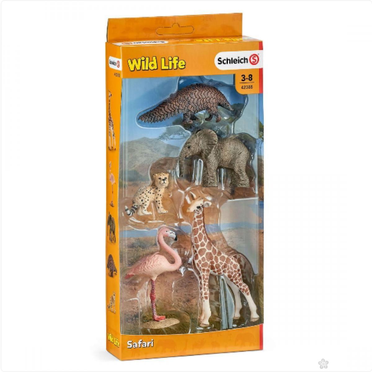 Set nekoliko zivotinja iz divljine 42388