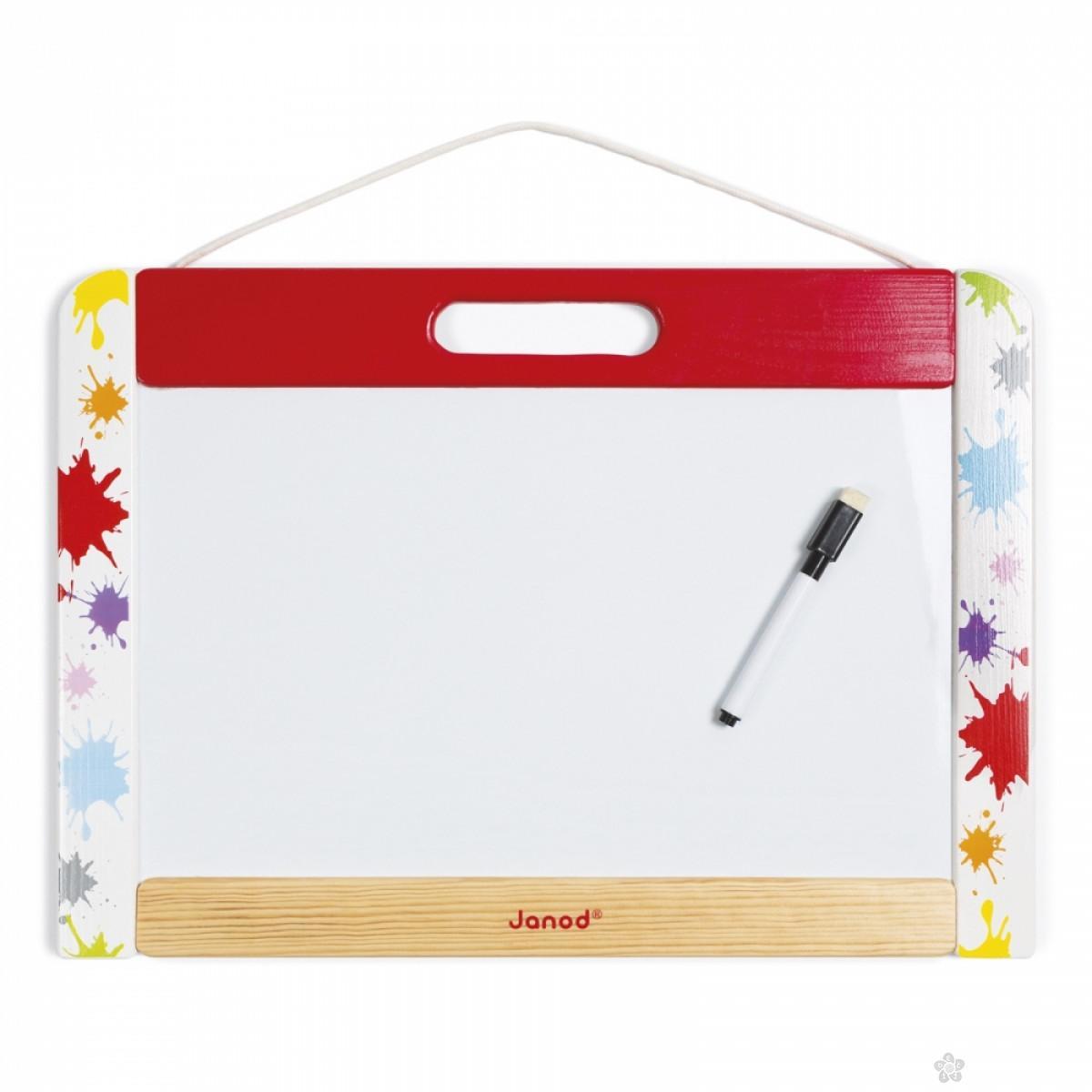 Tabla za pisanje/Magnetna tabla mala J09613