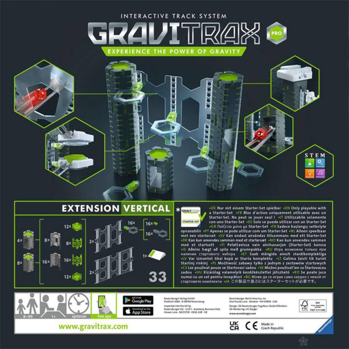 Društvena igra GraviTrax vertical RA26816