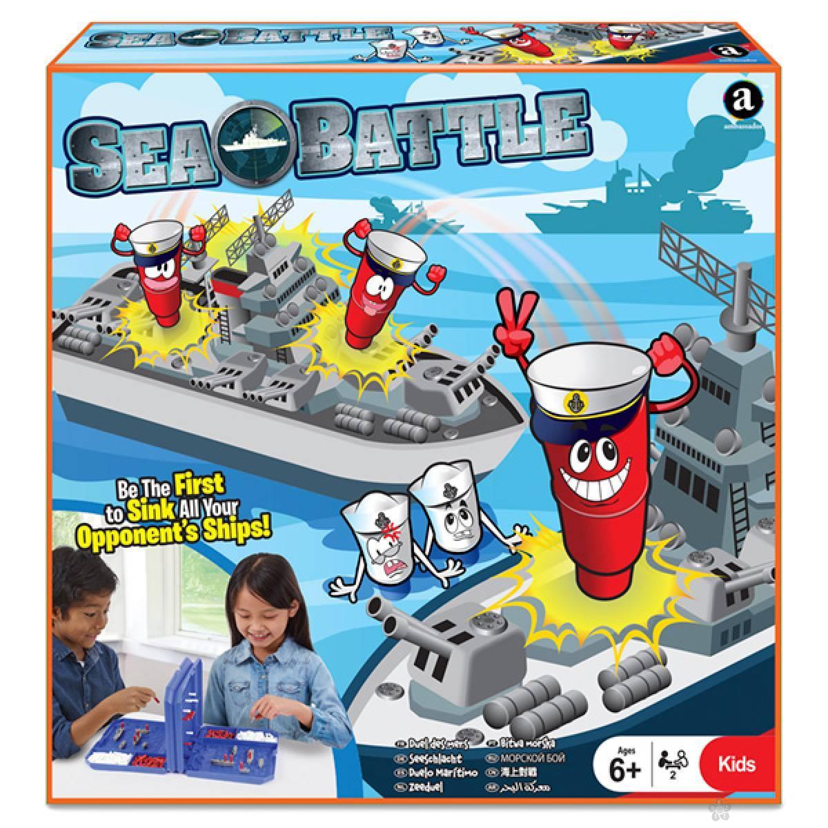 Društvena igra Potapanje brodova 23438