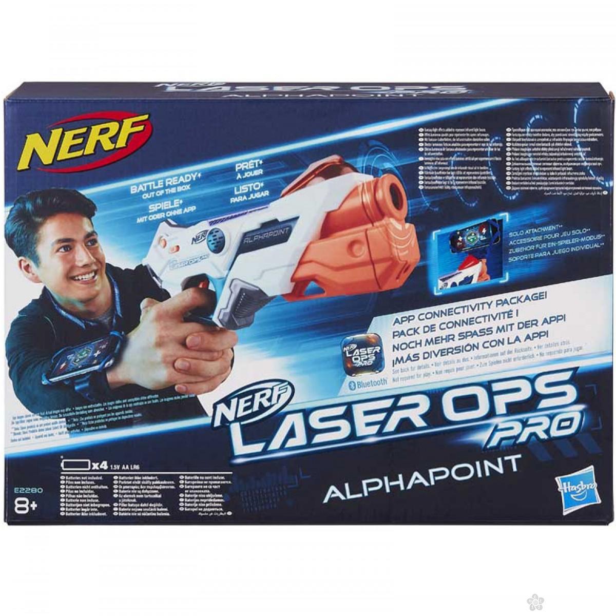Puška laser Nerf  Alphapoint E2280