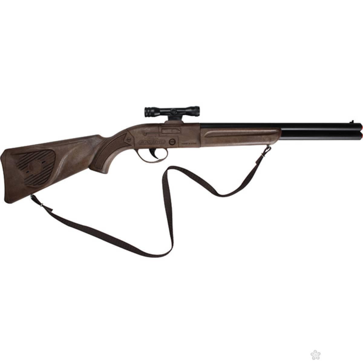 Puška sa dodatnim nišanom 24628