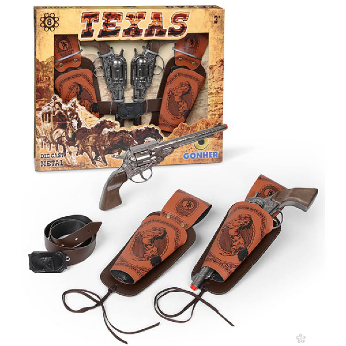 Texas set sa dva pištolja 24590