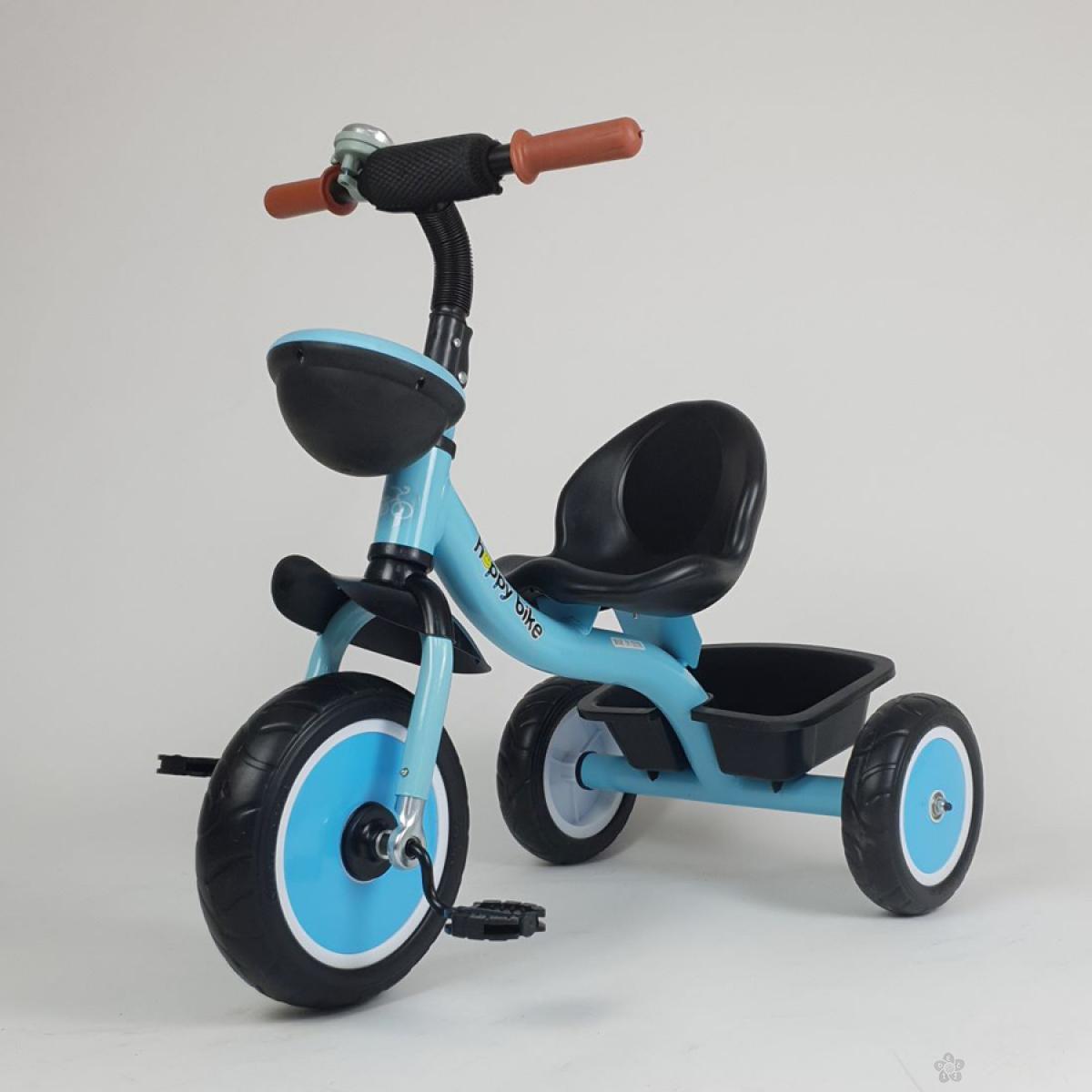 Tricikl HappyBike Denis model 427 plavi