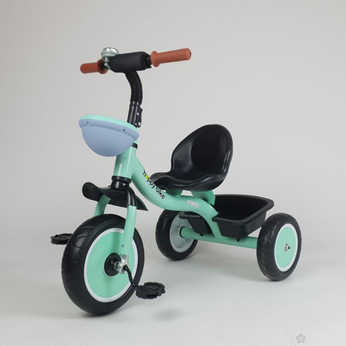 Tricikl HappyBike Denis model 427 zeleni