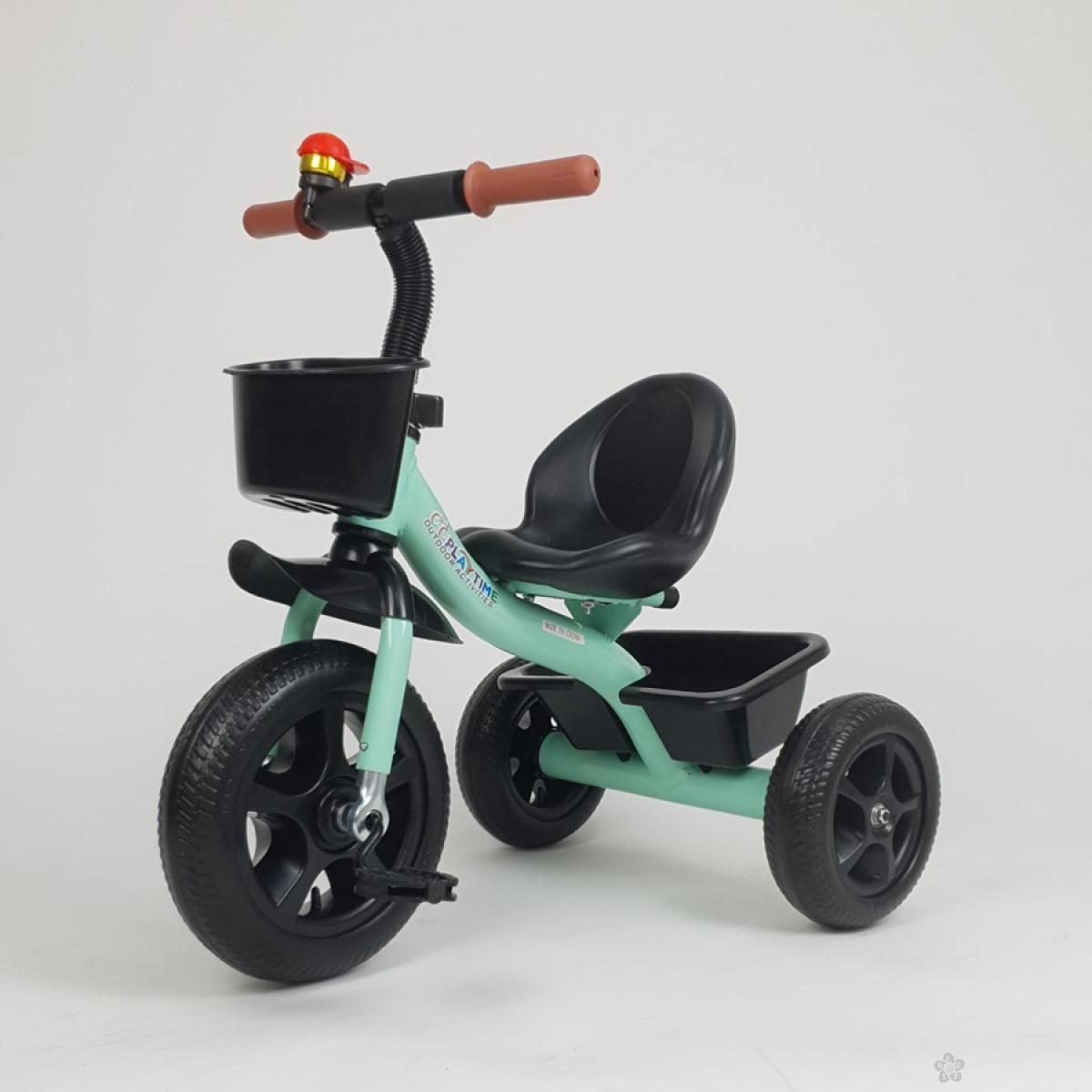 Tricikl Playtime NANI model 426  zeleni